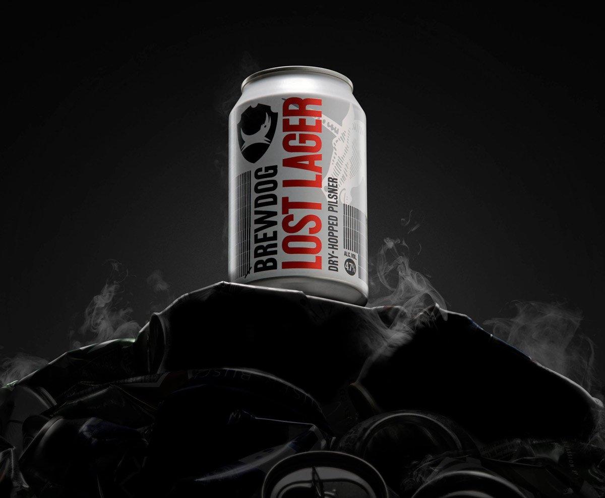 Una LOST LAGER de BrewDog a cambio de una lager industrial – Loopulo