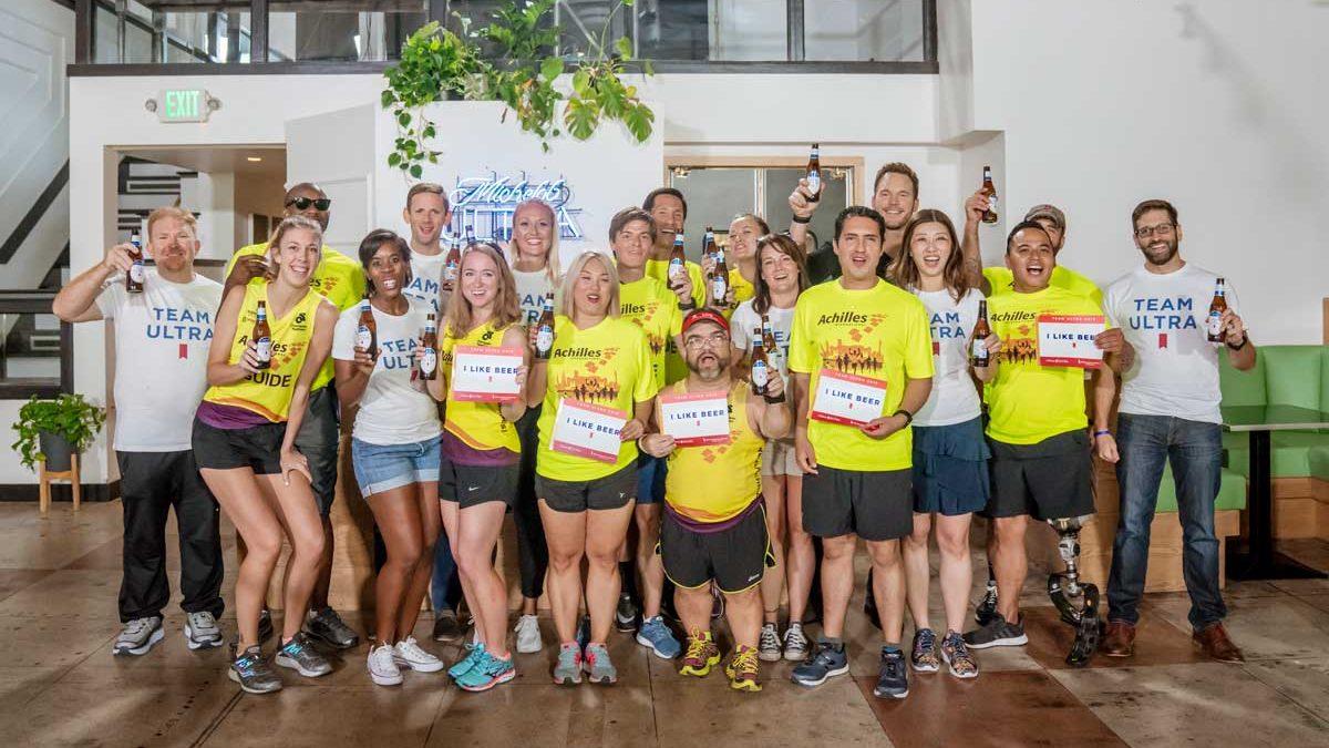 Chris Pratt sorprende a atletas discapacitados por la Maratón de Nueva York 2018
