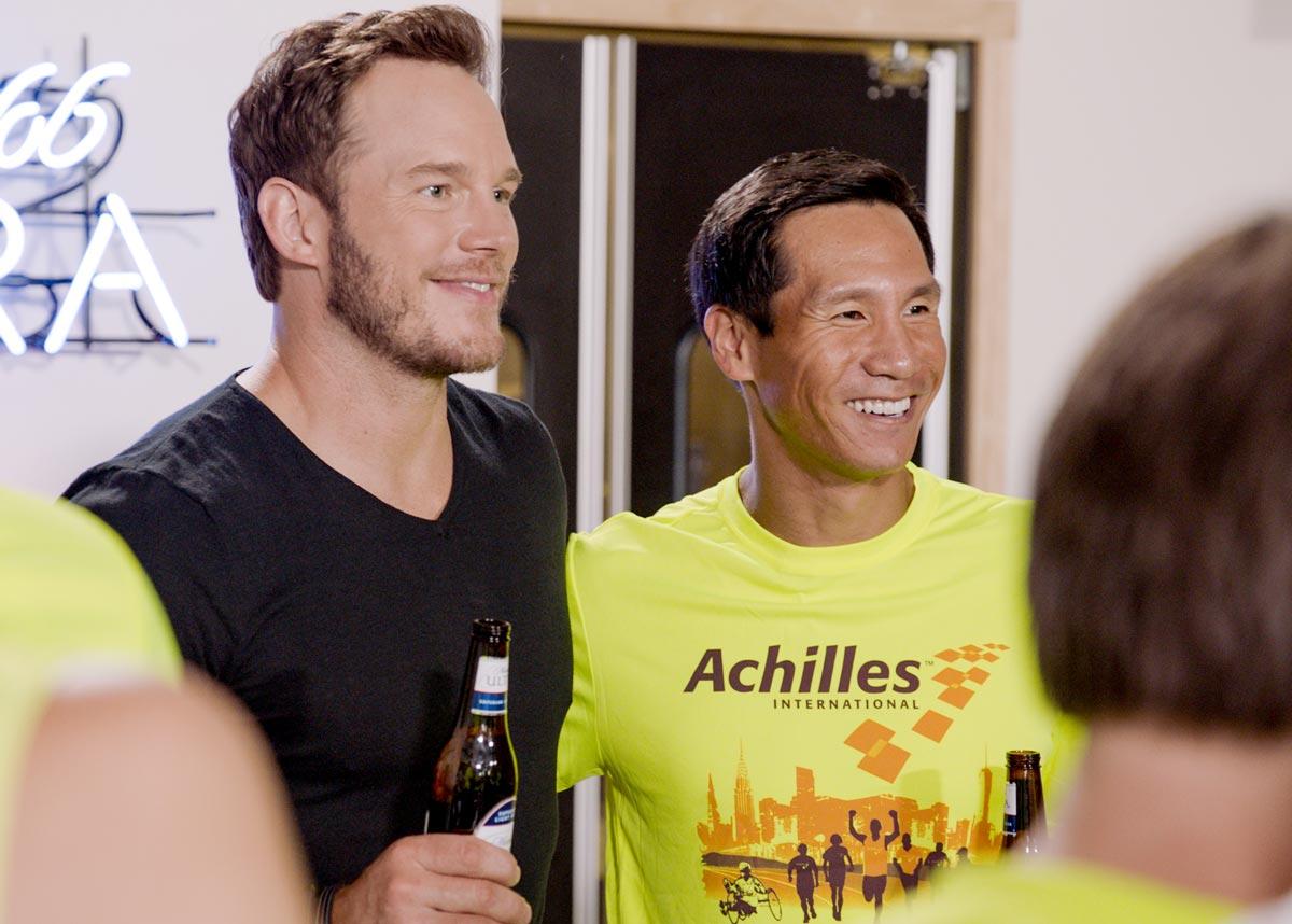 Chris Pratt sorprende a atletas discapacitados por la Maratón de New York – Loopulo