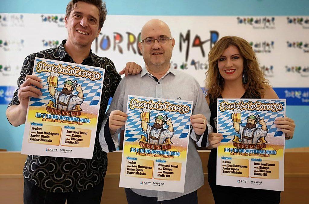 Fiesta de la Cerveza de Torre del Mar con Javier Ojeda como cabeza de cartel