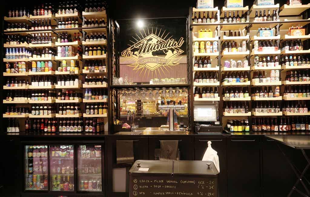 La Mundial, la nueva tienda de cervezas artesanas en el Mercado de Chamartín