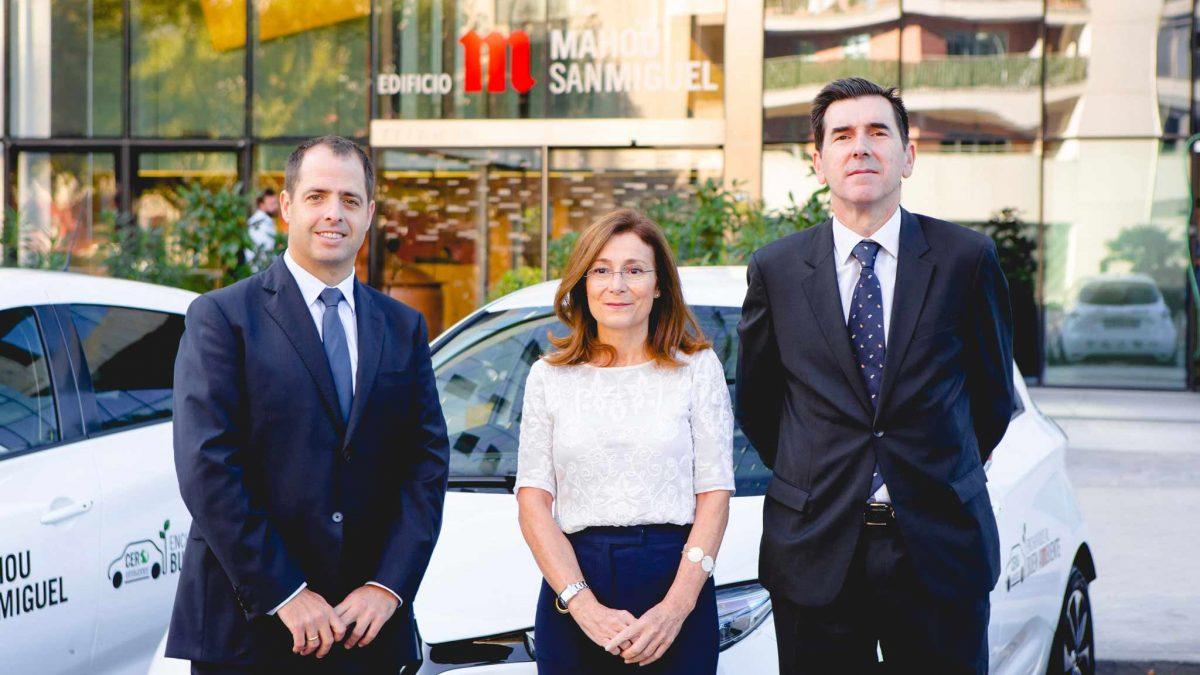 Mahou San Miguel presenta su nueva flota comercial de vehículos 100% eléctricos para Madrid
