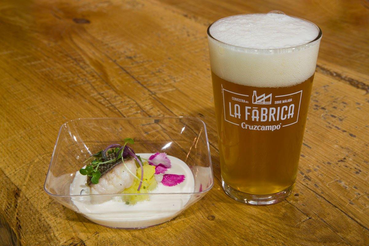 El chef Ángel León presenta su cerveza en La Fábrica de Cruzcampo – Loopulo