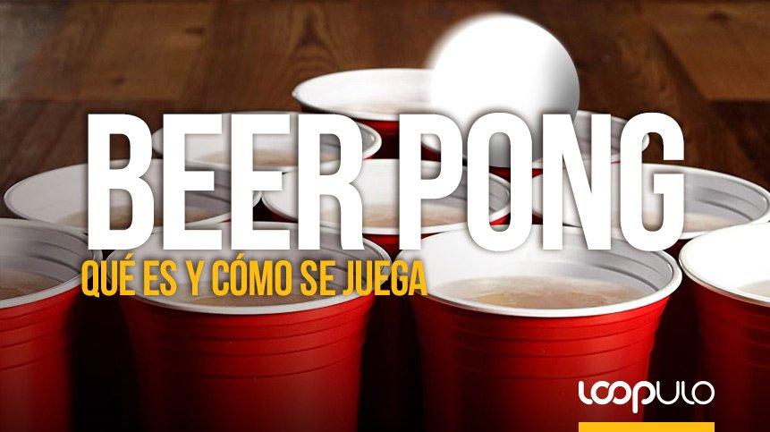 BEER PONG, qué es y cómo jugar a este juego cervecero