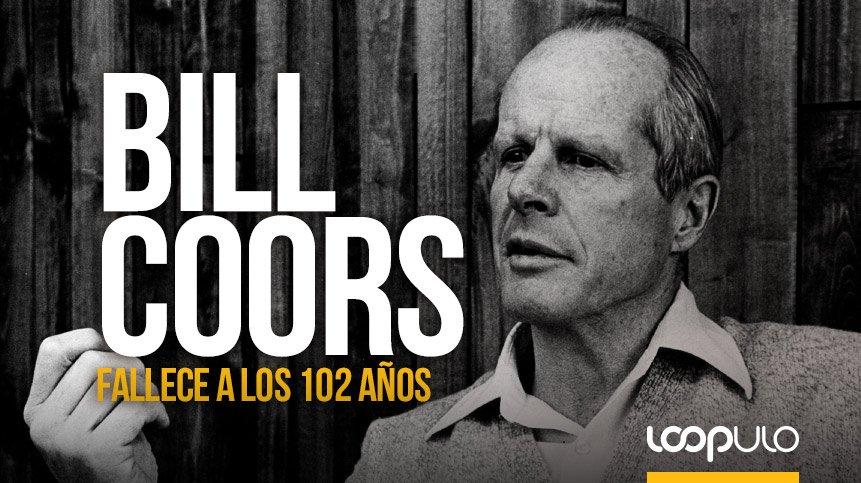 Bill Coors, leyenda de la industria de la cerveza, fallece a los 102 años