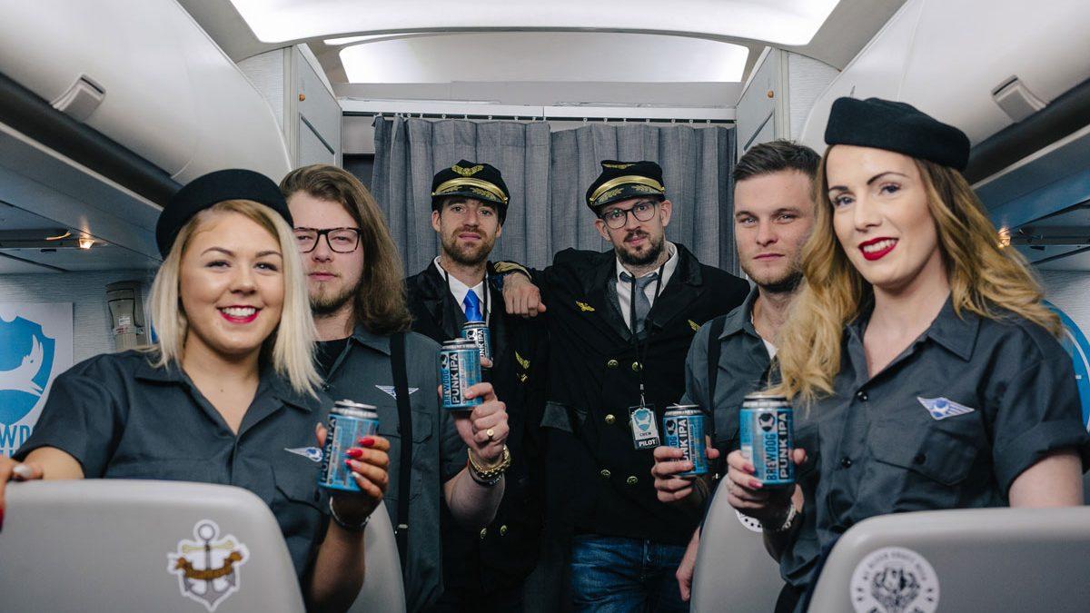 BrewDog Airlines, el vuelo craftbeer de BrewDog