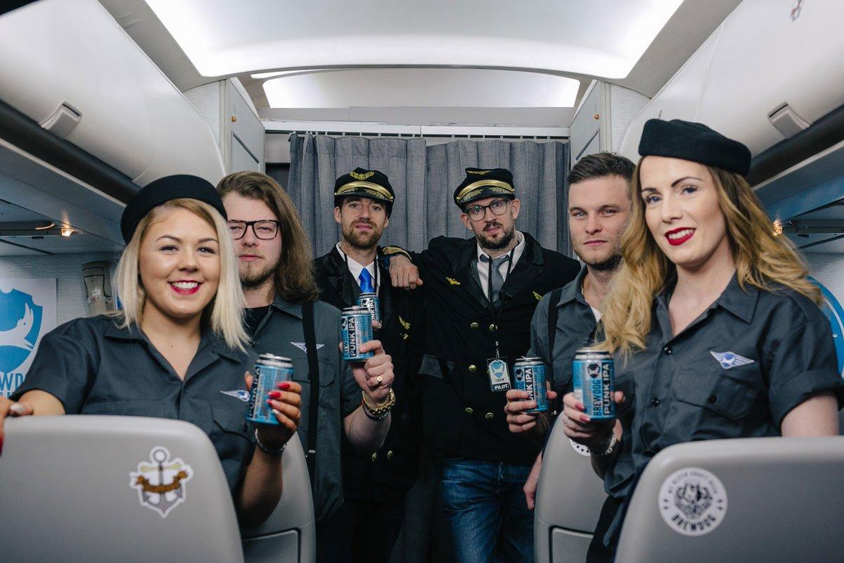 BrewDog Airlines, el vuelo craftbeer de BrewDog – Loopulo