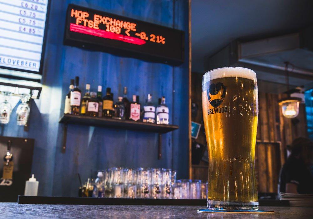BrewDog abre una cervecería en el Canary Wharf de Londres – Loopulo