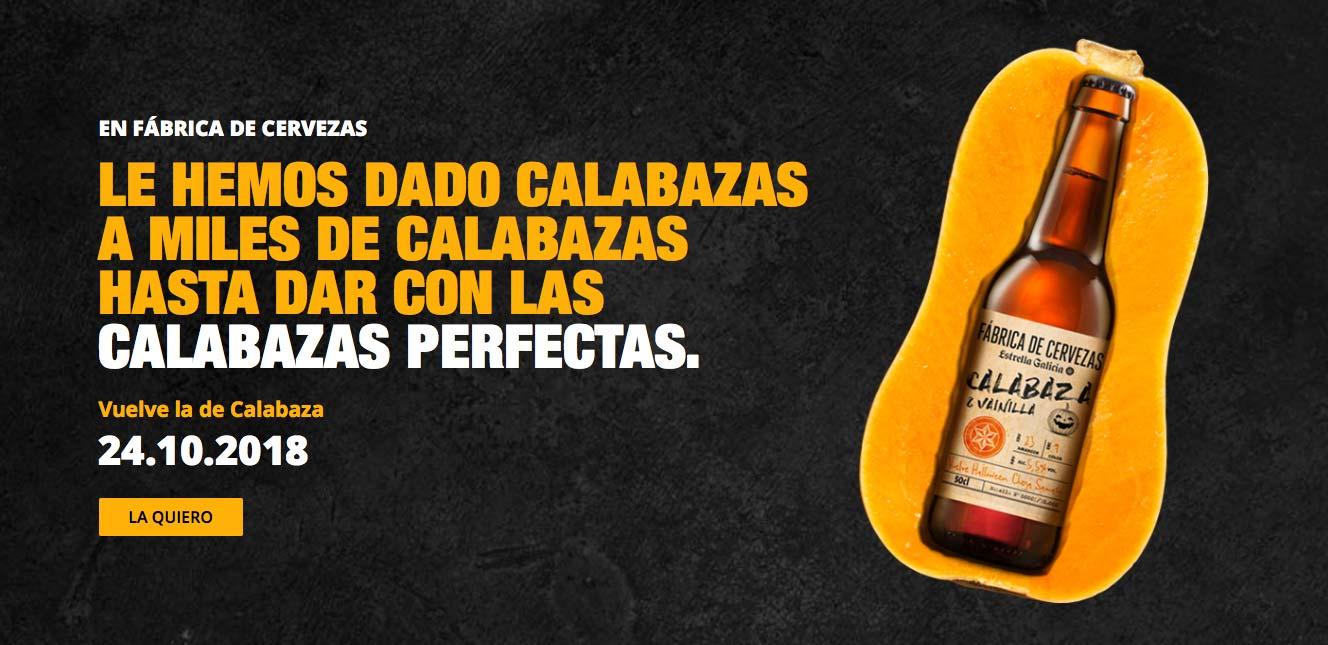 Calabaza y Vainilla lo nuevo de Fábrica de Cervezas Estrella Galicia – Loopulo
