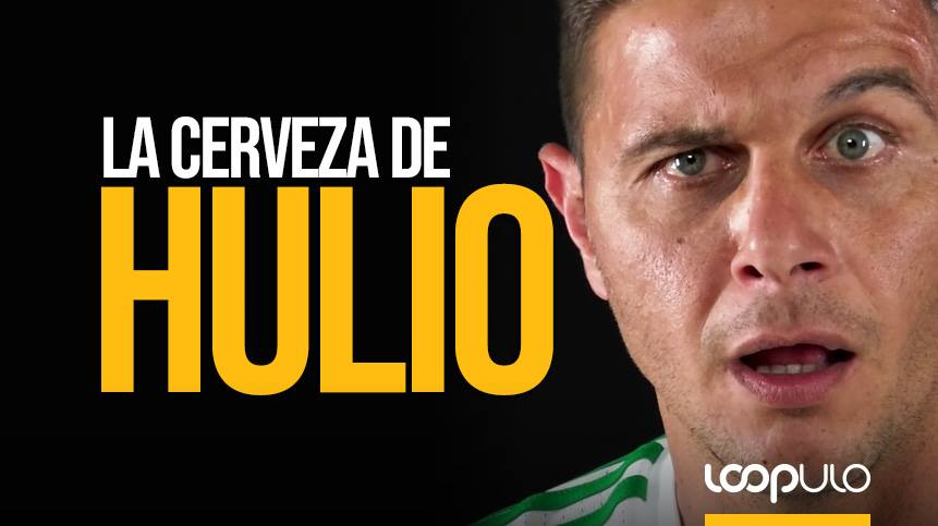 La cerveza de Hulio, la cerveza del futbolista Joaquín