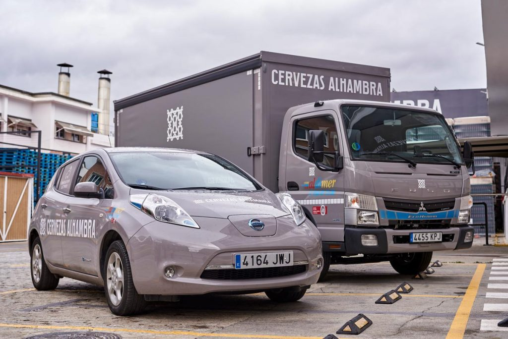 El camión híbrido de Mahou San Miguel para repartos más sostenibles – Loopulo