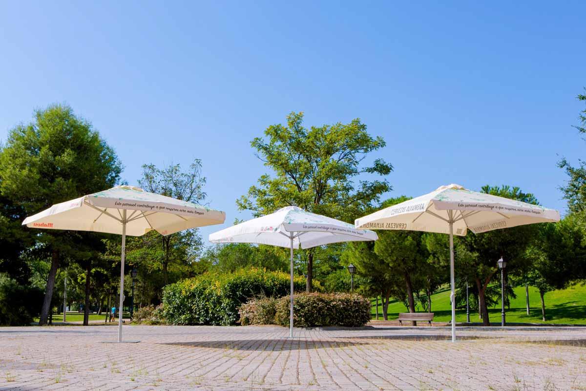 Los parasoles de Mahou San Miguel contra la contaminación – Loopulo