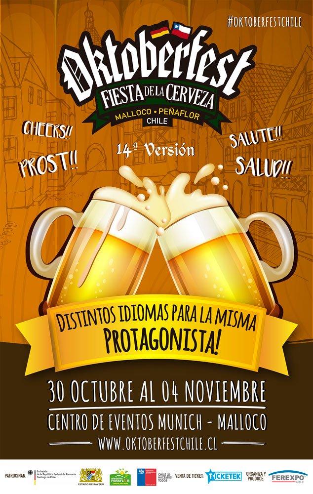 Oktoberfest Malloco contará con Chancho en Piedra y Villa Cariño – Loopulo