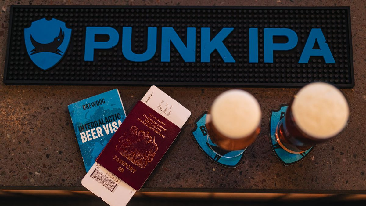 BrewDog monta un bar en los aeropuertos de Perth y Edimburgo