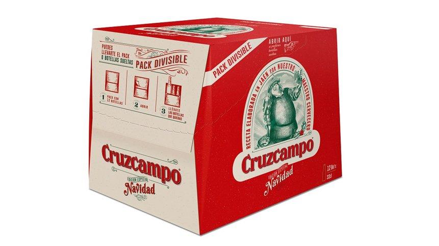 Nueva edición de Cruzcampo Navidad, una cerveza especial para brindar estas fiestas