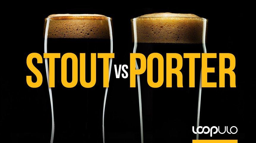 ¿Cuál es la diferencia entre las cervezas Stout y las Porter?