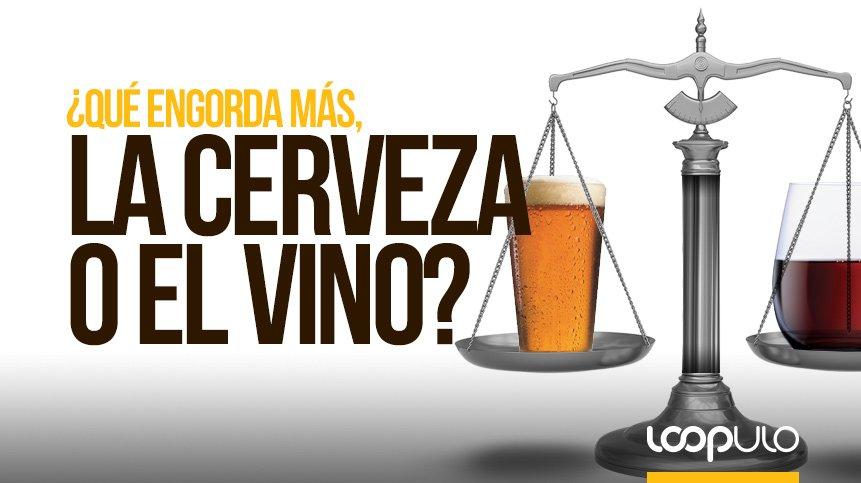 ¿Qué ENGORDA MÁS, la cerveza o el vino?