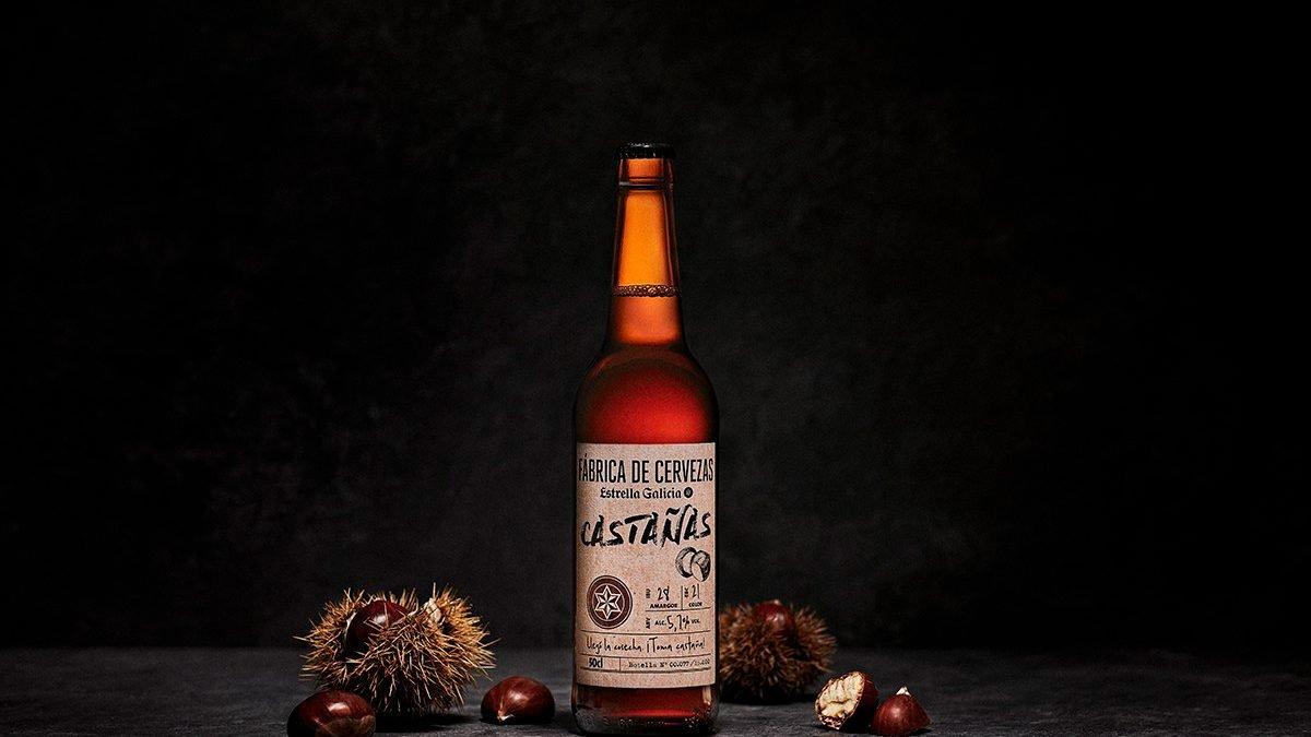 Estrella Galicia de Castañas, la nueva apuesta de Fábrica de Cervezas