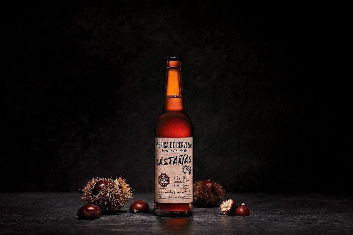 Estrella Galicia de CASTAÑAS, la nueva apuesta de Fábrica de Cervezas – Loopulo