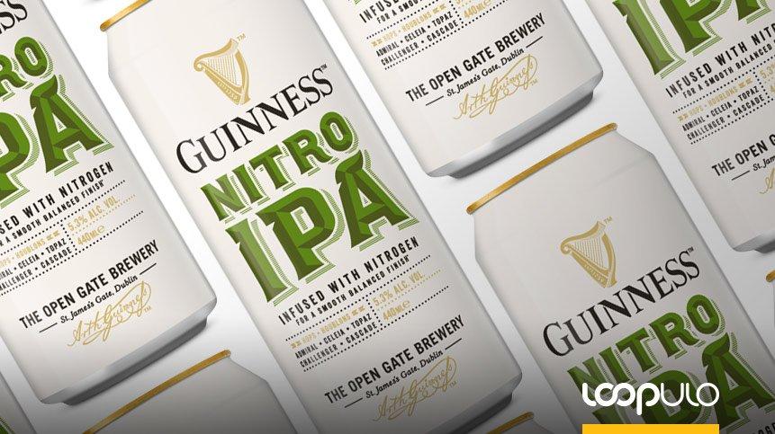 GUINNESS NITRO IPA, de la Stout a la India Pale Ale