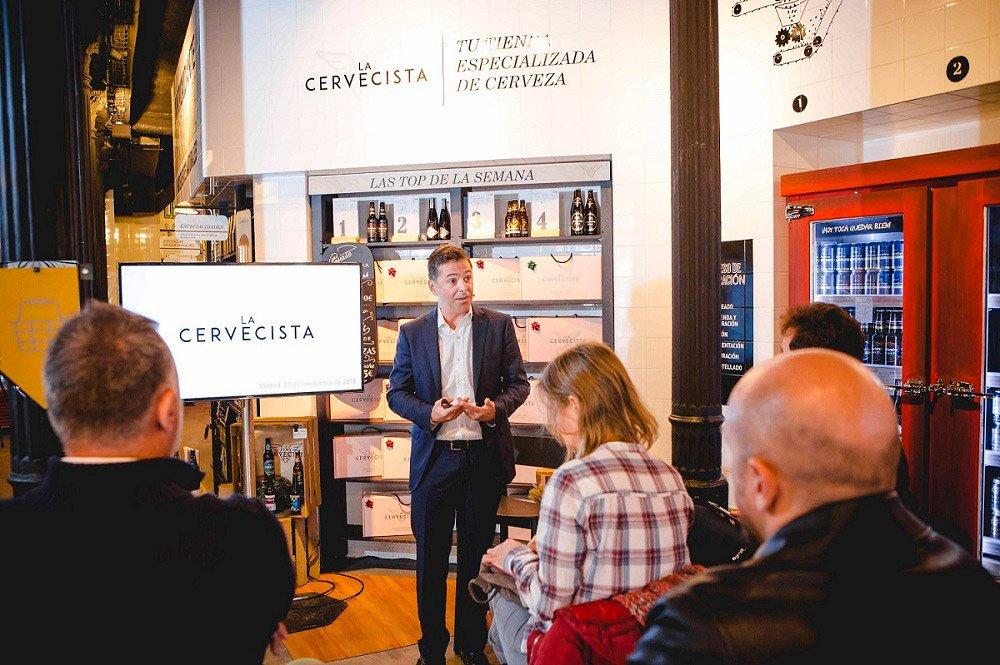 Mahou San Miguel abre La Cervecista, un nuevo espacio en el centro de Madrid para transformar la experiencia de compra de la cerveza