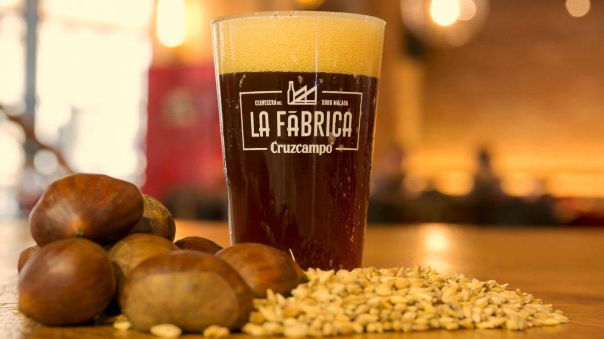 Los Maestros Cerveceros de Cruzcampo crean una cerveza ahumada con castañas