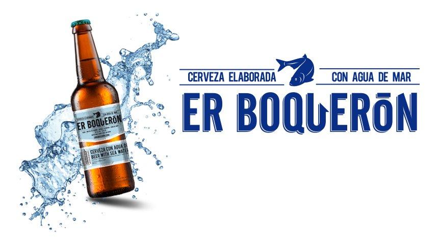 Er Boquerón, la primera cerveza elaborada con agua de mar
