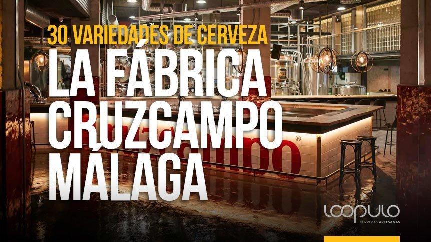 La Fábrica Cruzcampo de Málaga cierra el año con 30 variedades de cerveza