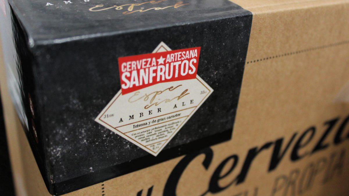 Cervezanía lanza un nuevo kit para hacer cerveza artesana: San Frutos Amber Ale