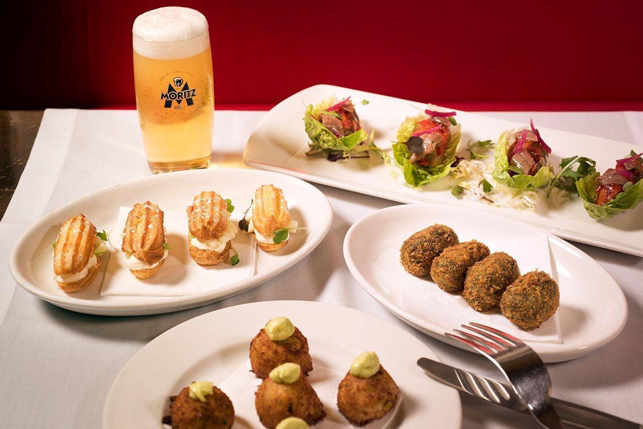 El Velódromo y Moritz te ofrecen un menú de lo más navideño