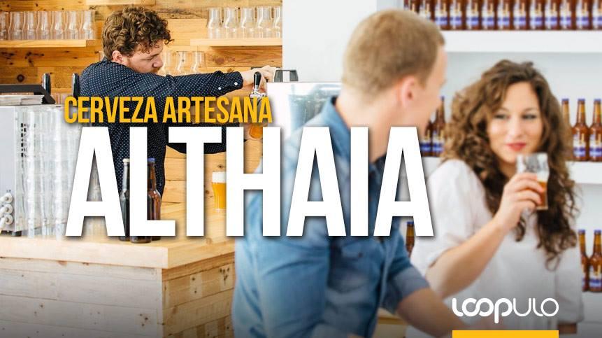 Althaia, cervezas artesanas elaboradas en Alicante