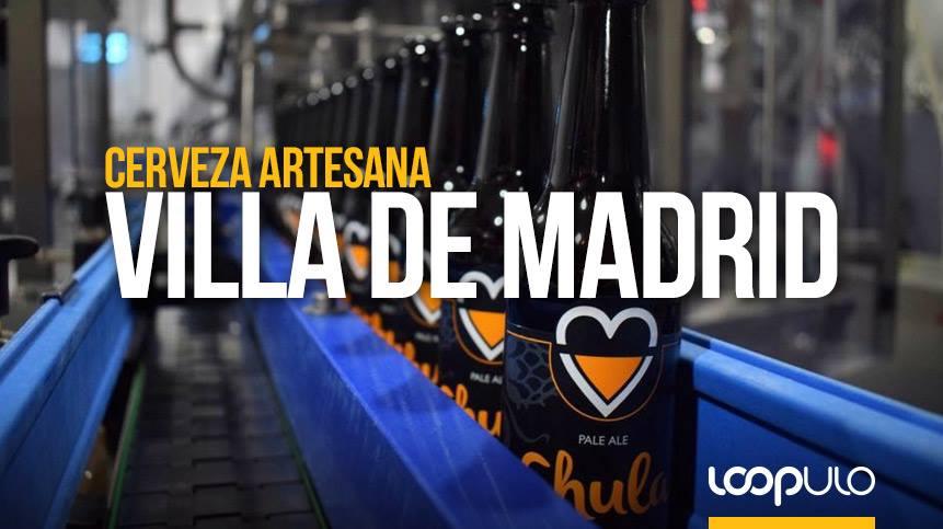 Cervezas Villa de Madrid, cervezas artesanas de Madrid