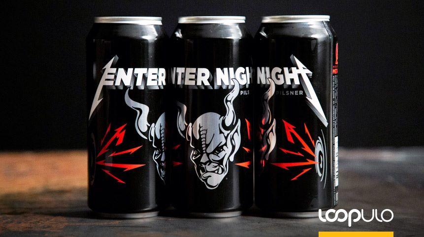 Enter Night Pilsner, la cerveza artesana de Metallica