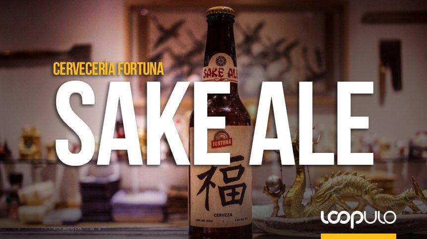 Sake Ale, la cerveza experimental de Cervecería Fortuna