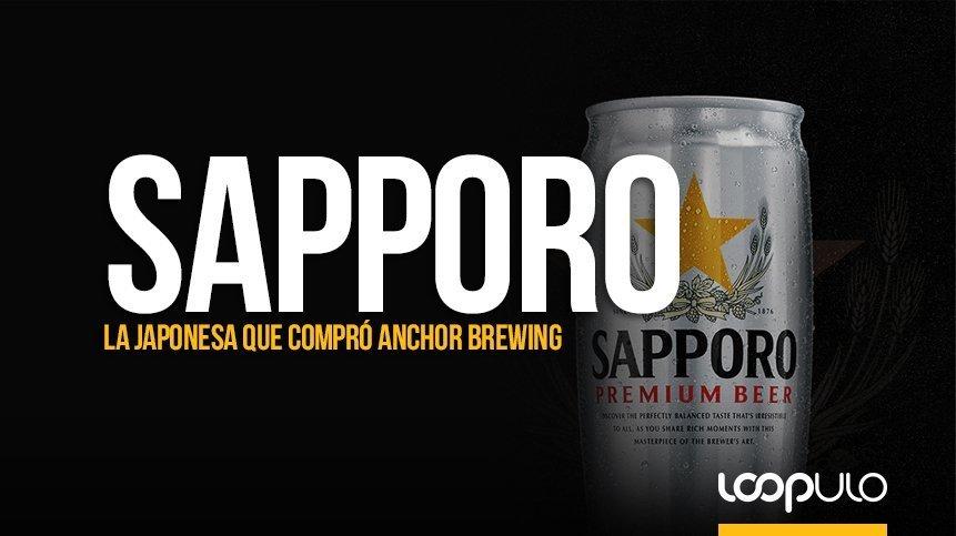 Sapporo, la cervecera japonesa que compró Anchor Brewing