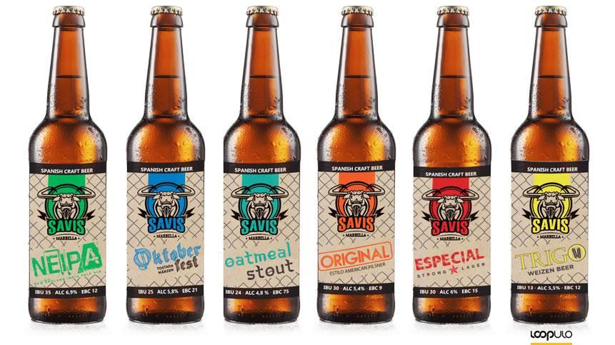 Cervezas artesanas Savis – Loopulo