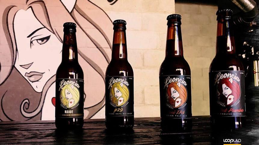 Leoncia, cervezas artesanales de Madrid – Loopulo