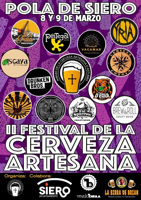 II Festival de la Cerveza Artesana de la Pola, 8 y 9 de marzo – Loopulo