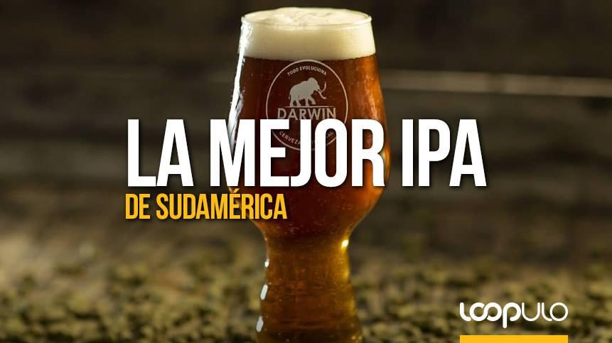 Cervecería Darwin tiene la mejor IPA de Sudamérica