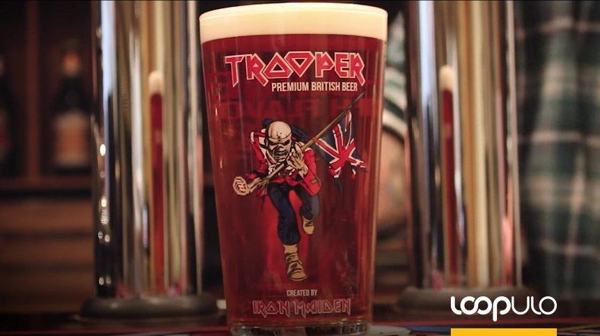 Trooper Nitro, la nueva cerveza de Iron Maiden – Loopulo