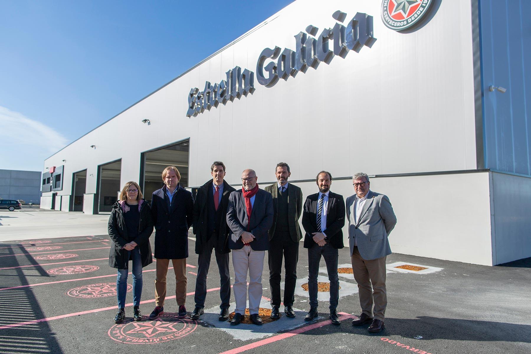 Vimianzo ya cuenta con un centro logístico de Estrella Galicia – Loopulo