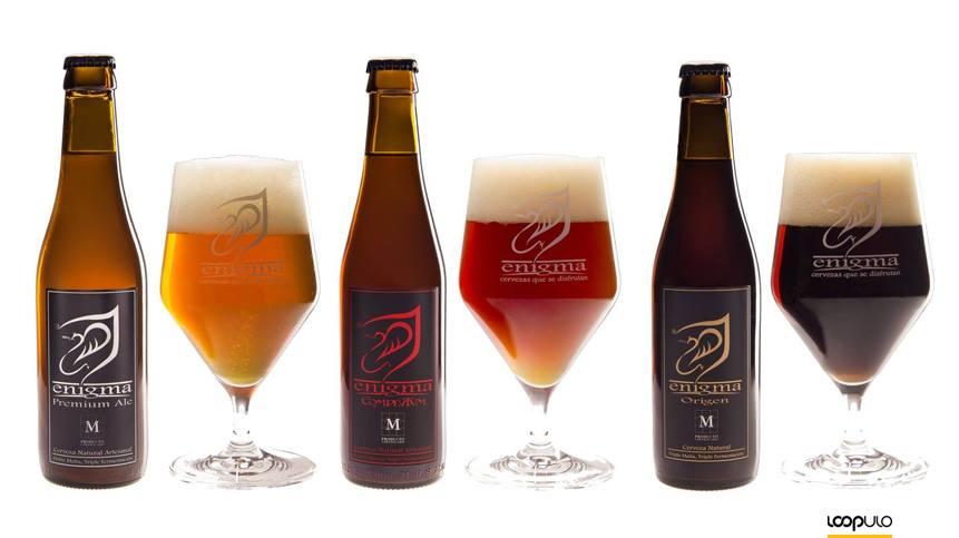 Enigma, cervezas artesanas de Madrid – Loopulo