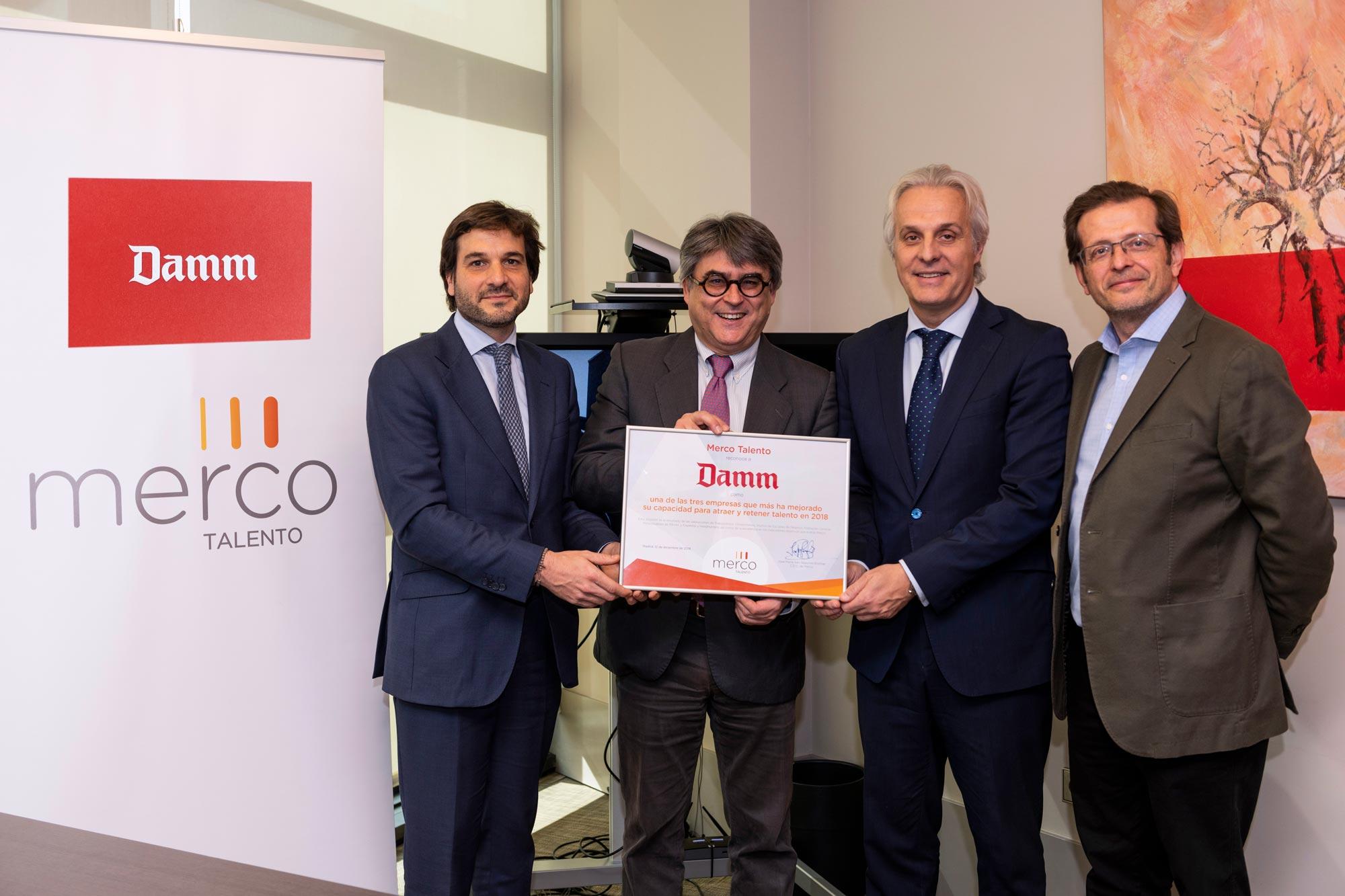 Merco reconoce la capacidad para atraer y retener talento de Damm – Loopulo