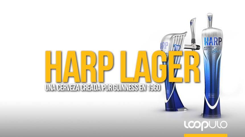 Harp Lager, una cerveza creada por Guinness en 1960