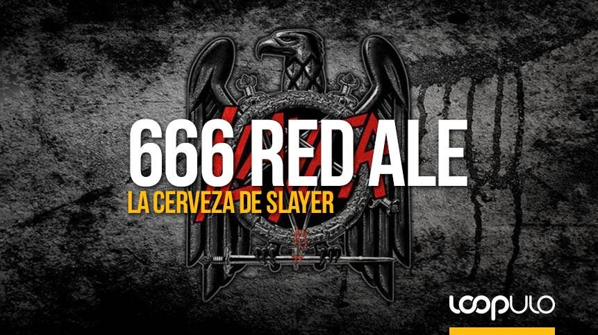 666 Red Ale, la cerveza de la banda thrash metal Slayer