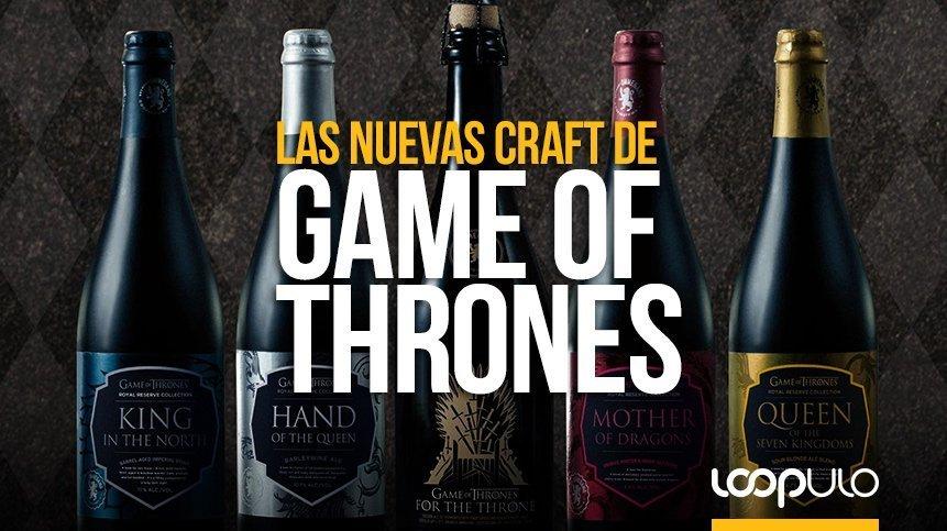 King in the North y For the Throne, las nuevas craft de Game of Thrones