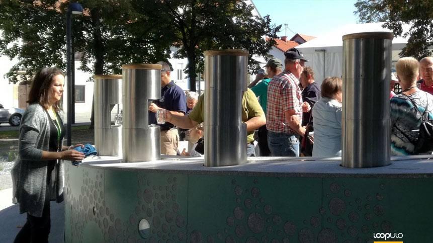 La primera fuente de cerveza se encuentra en Zalec, Eslovenia – Loopulo