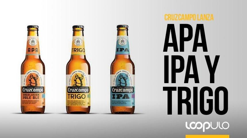 Las nuevas variedades de Cruzcampo: APA, IPA y Trigo – Loopulo