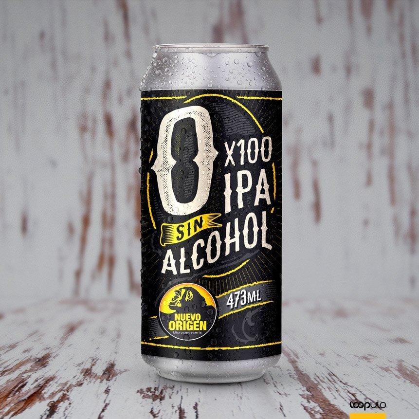 0x100 de Nuevo Origen, la primera IPA sin alcohol de Argentina – Loopulo