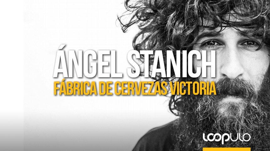 Ángel Stanich ofrecerá un concierto acústico en la fábrica de Cervezas Victoria